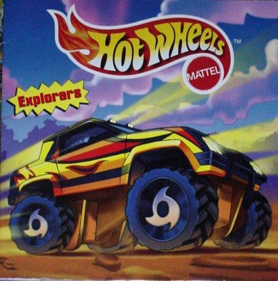 Hot Wheels: Explorers  by  Modern Publishing