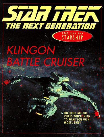 Make Your Own Klingon Battle Cruiser  by  Ruth Wickings