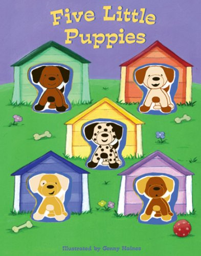 Five Little Puppies Margaret Wang