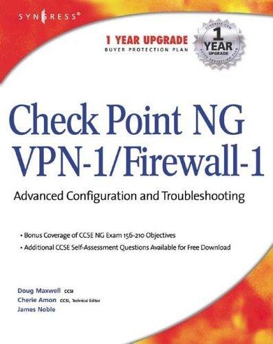 Check Point Ng VPN-1/Firewall-1 Jim Noble