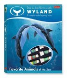 Step Step Painting with Wyland: Favorite Animals of the Sea Kit: A complete kit for begining artists by Amy Runyen