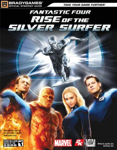 Fantastic Four: Rise of the Silver Surfer Official StrategyGuide BradyGames