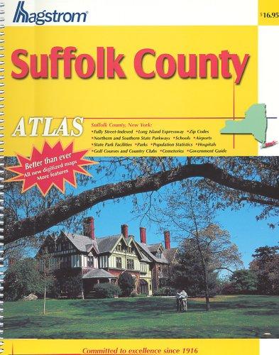 Hagstrom Suffolk County Atlas Hagstrom Map Company