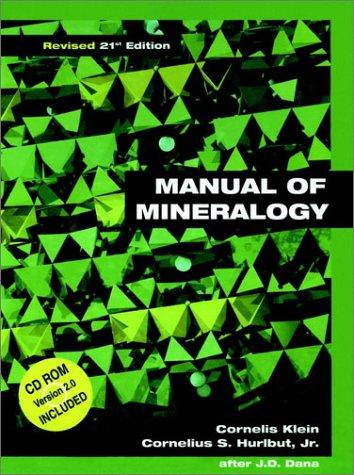 Earth Materials Cornelis Klein