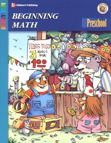 Spectrum Beginning Math, Preschool (Little Critter Preschool Spectrum Workbooks)  by  Mercer Mayer