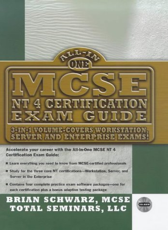 MCSE NT4 All-In-One Certification Exam Guide (All-In-One Series)  by  Brian Schwarz