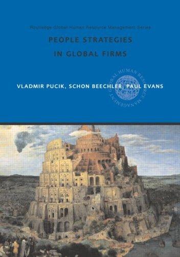 People Strategies in Global Firms Vladimir Pucik