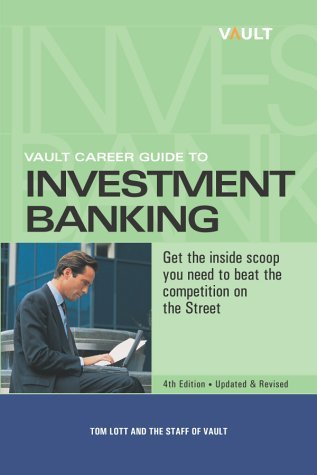 Vault Career Guide To Investment Banking Chris Prior