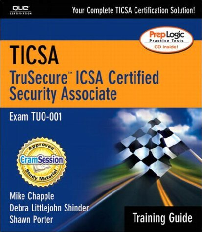 Ticsa Training Guide [With CDROM] Mike Chapple