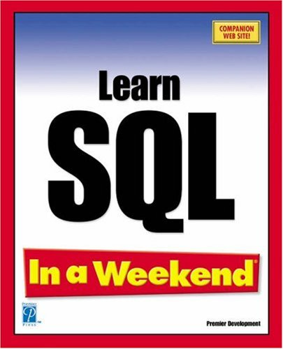 Learn SQL in a Weekend Kevin Thompson