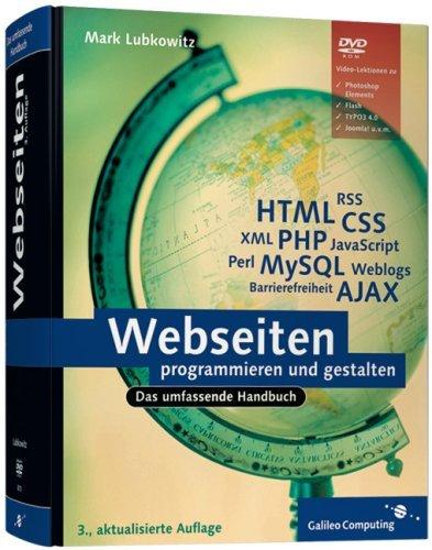 Webseiten programmieren und gestalten Mark Lubkowitz