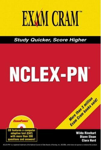Nclex Pn Exam Cram (Exam Cram 2)  by  Wilda Rinehart