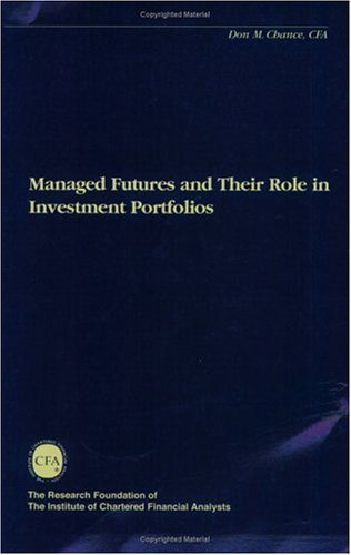 Managed Futures And Their Role In Investment Portfolios Don M. Chance