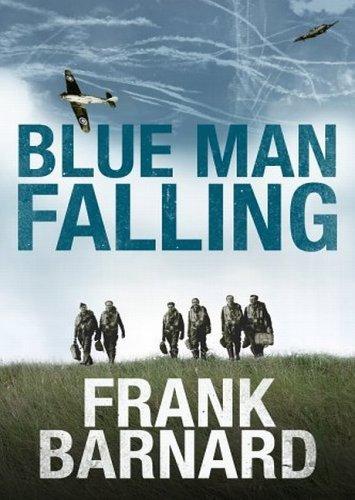Blue Man Falling Frank Barnard