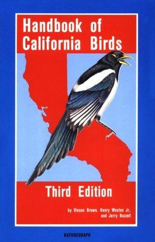 Handbook Of California Birds Vinson Brown