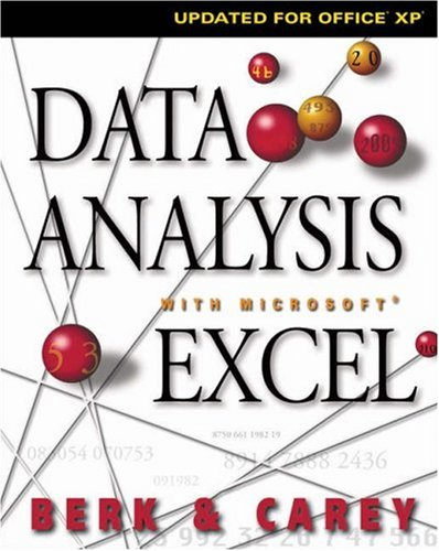 Data Analysis With Microsoft Excel  by  Kenneth N. Berk