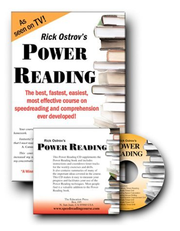 Power Reading Course Book with Audio Countdown Timing CD: The Best, Fastest, Easiest, Most Effective Course on Speedreading and Comprehension Ever Developed! Rick Ostrov
