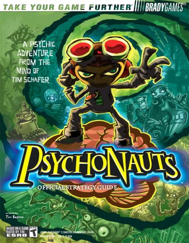 Psychonauts Official Strategy Guide  by  Tim Bogenn