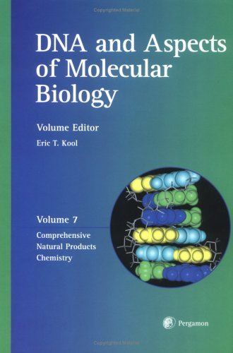 Comprehensive Natural Products Chemistry:  Dna And Aspects Of Molecular Biology Otto Meth-Cohn