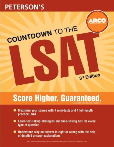 Countdown to the LSAT, 3rd ed  by  Mark Alan Stewart