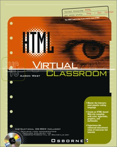 HTML Virtual Classroom [With CDROM] Robert Fuller