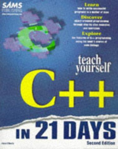 Teach Yourself C++ In 21 Days Jesse Liberty