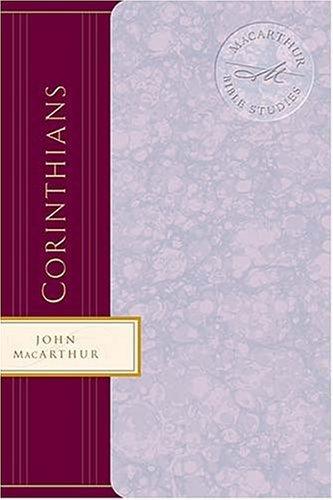 1 Corinthians: Godly Solutions For Church Problems John F. MacArthur Jr.