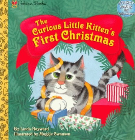 Curious Little Kittens First Christmas Linda Hayward