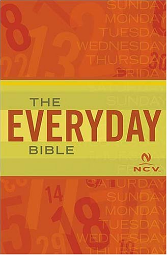 The Everyday Bible NCV Anonymous