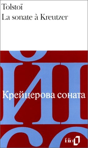 Sonate a Kreutzer Fo B Leo Tolstoy