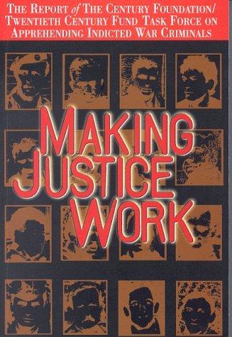 Making Justice Work Diane Orentlicher