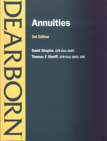 Annuities  by  Thomas F. Streiff