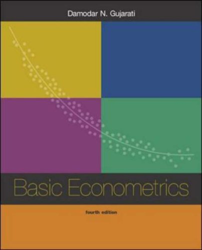 Basic Econometrics [With CDROM]  by  Damodar N. Gujarati