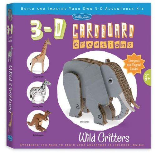 Wild Critters: Build and Imagine Your Own 3-D Adventures Kit Dottie Wang