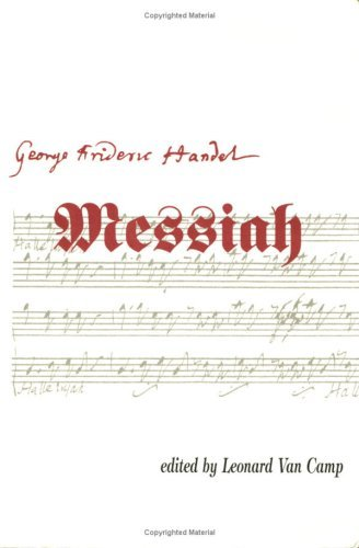 Messiah [Sheet Music Book] Georg Friedrich Händel