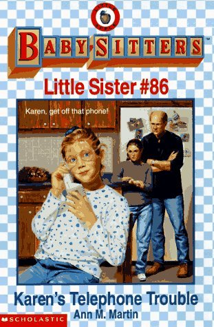 Karens Telephone Trouble (Baby-Sitters Little Sister, #86)  by  Ann M. Martin