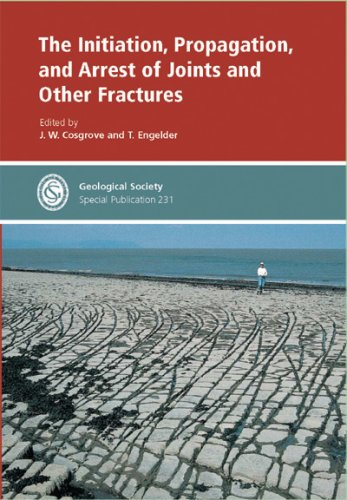 The Initiation, Propagation, And Arrests Of Joints And Other Fractures (No. 231) J.W. Cosgrove