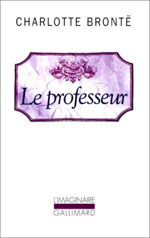 Le professeur Charlotte Brontë