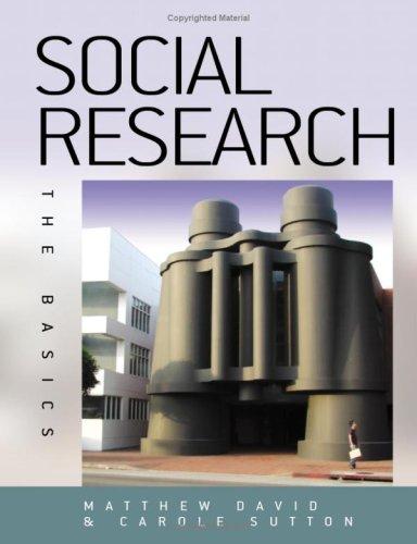Social Research: The Basics Carole D. Sutton