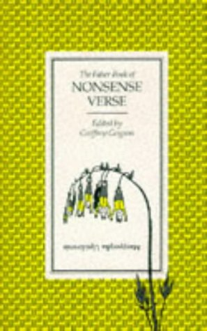 Faber Book of Nonsense Verse Geoffrey Grigson