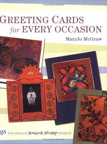 Greeting Cards for Every Occasion Mary Jo McGraw