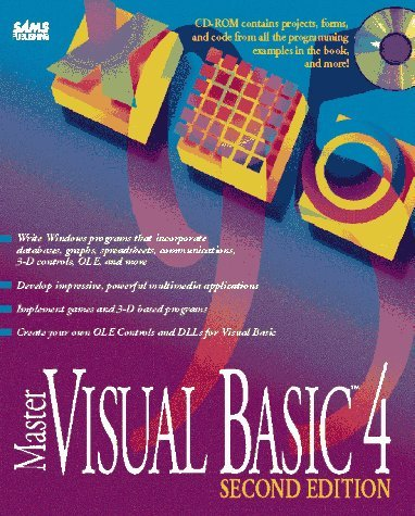 Master Visual Basic 4, with CD-ROM  by  Nathan Gurewich