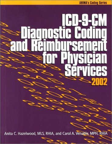 ICD-9-CM Diagnostic Coding and Reimbursement for Physician Services, 2002 Anita C. Hazelwood