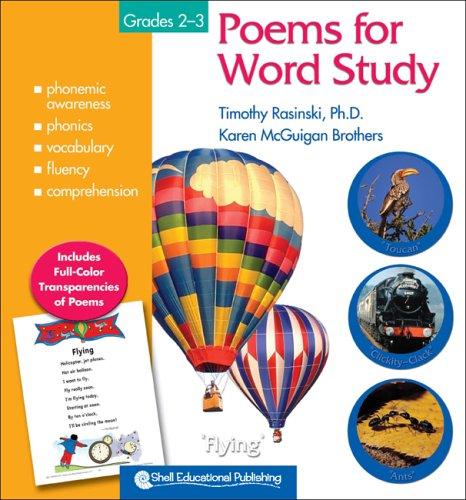 Poems For Word Study: Grades 2 3  by  Timothy V Rasinski