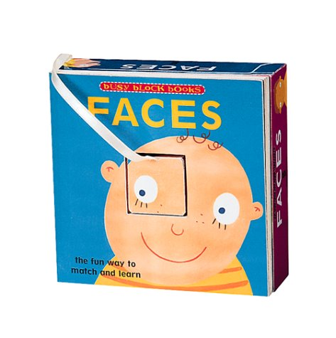 BUSY BLOCKS Faces - The Fun Way to Match and Learn James Croft