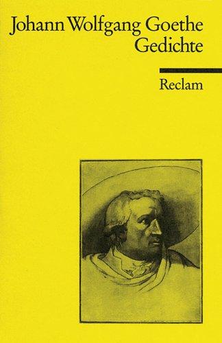 Gedichte Johann Wolfgang von Goethe