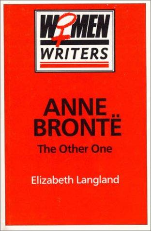 Anne Brontë Elizabeth Langland