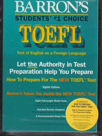 Barrons TOEFL Pamela Sharpe