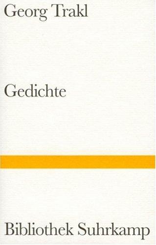 Gedichte Georg Trakl