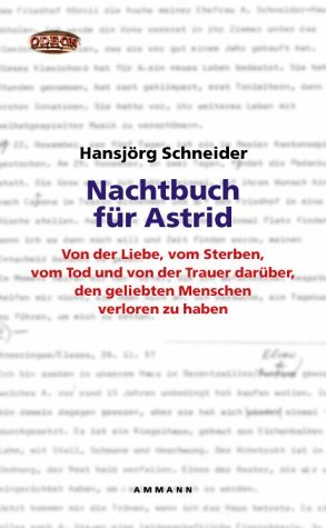 Nachtbuch Für Astrid  by  Hansjörg Schneider